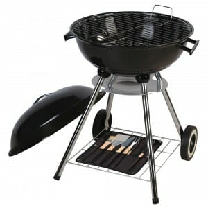 Charcoal grill rental near me.