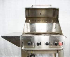 Stainless steel grill rental