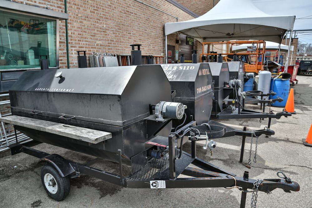 Grill Rental Aa Rental Center In Melrose Park Illinois