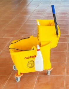 Mop bucket rental.
