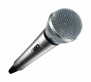 Wireless microphone rental.