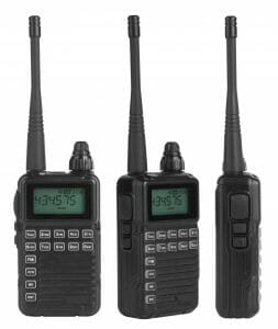 Audio Visual walkie talkie rental near me.