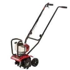 Mini gas rototiller rental.