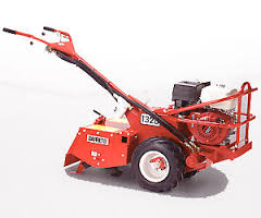 Rear tine tiller rental center