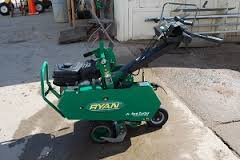 Sod cutter for rent.