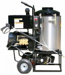 Pressure steam cleaner aarental