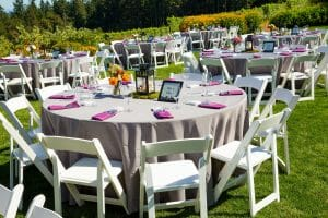 Reception Tables Outdoor
